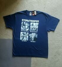 Star Wars (Official) Men's Stormtrooper What I Do Graphic T-Shirt Navy XL