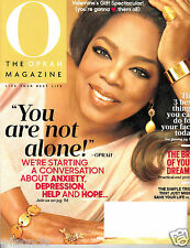 O The Oprah Magazine You Are Not Alone (Vol. 17, Number 2, February 2016)