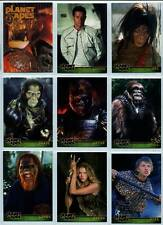Planet Of The Apes Movie Topps Complete 90 Card Set Plus Wrapper 2001