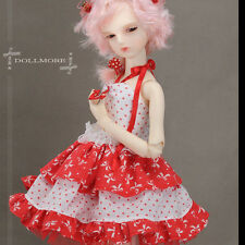 "Dollmore 17"" 1/4 Doll clothes  MSD SIZE - Ribbon In The Sky (Red) Clothes"