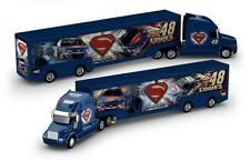 NASCAR HAULER TEAM TRANSPORTER * BATMAN vs. SUPERMAN * Jimmie Johnson - 1:64