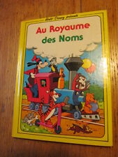 Au royaume des noms Vocabulaire Walt DISNEY 1979 over 1000 french words