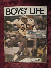 BOYS LIFE SCOUTS September 1970 Sept 70 CALVIN HILL DONALD KEITH PAUL ANNIXTER +