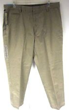 New Dockers Men's Pants Khaki Size 36/30 Flat Front Relaxed Fit True Chino