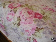 RosaryAtHome Pink Rose Cotton Table Cloth Lace Edge 36""