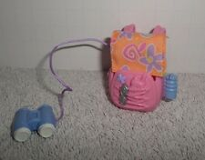 Fisher Price Loving Family Dollhouse Backpack with Binoculars Camping Outdoors