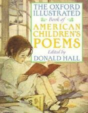 The Oxford Illustrated Book of American Children's Poems, , Very Good Book