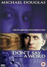 DON'T SAY A WORD Michael Douglas*Sean Bean*Brittany Murphy Thriller DVD *EXC*