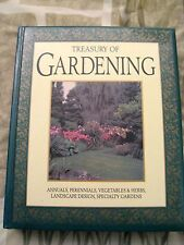 Treasury of Gardening by Ambler (1993, Hardcover) Gold edges on Pages