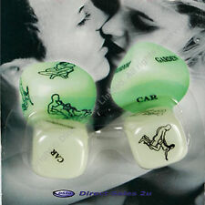 Glow in the Dark Kama Sutra Sex Dice Adult Game Valentines Day Gift