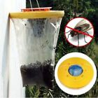 2X TOP RED DROSOPHILA FLY TRAPS CATCHERS THE ULTIMATE FLY CATCHER INSECT TRAP