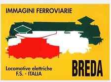 FERROVIE - BREDA Locomotive Elettriche 1980 Immagini Brochure - DVD