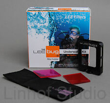 LEE Filters Bug GoPro Underwater Kit  for Hero 3 Red, Magenta filter, Holder