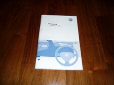 VW Golf Variant / Jetta Bedienungsanleitung 05/2007