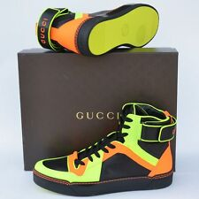 GUCCI New sz 11.5 G - US 12 Auth Designer High Top Mens Shoes Boots Sneakers