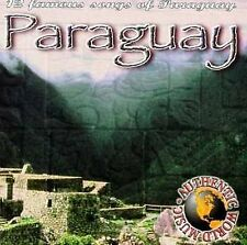 FREE US SHIP. on ANY 2 CDs! NEW CD Various Artists: Paraguay