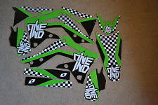 ONE  INDUSTRIES  TEAM KAWASAKI CHECKERS GRAPHICS KX450F KXF450  2012 2013 2014