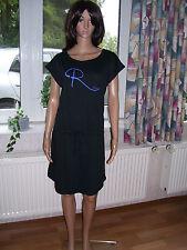 Roxy, Shirtkleid, luftiges Kleid, Sommerkleid, schwarz, Modal, Gr. XL, neu!