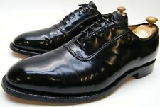 MENS VTG JOHNSTON MURPHY HERITAGE 1850 BLACK LEATHER OXFORD DRESS SHOES 10 D 10D