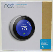 Nest - Learning Thermostat - 3rd Generation - Stainless Steel - BRAND NEW