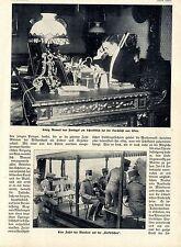 König Manuel von Portugal auf der Rennbahn beim Florettfechten Bilddokumente1909
