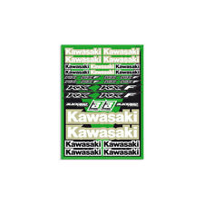 Motocross MX Aufkleber Dekor Kawasaki Factory Racing Sticker Set Kit Grün KXF KX