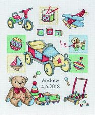 Anchor-contato CROSS STITCH KIT-BAMBINO-NASCITA campionatore-acs39