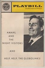 "Gian Carlo Menotti   ""Amahl And The Night Visitors""  Playbill  1970  City Center"