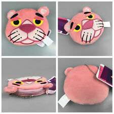 Women Lady Cute Pink Panther Plush Doll Coin Purse Card Pack Cotton Wallet Hot