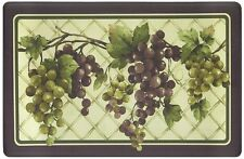 "RARE ANTI-FATIGUE NON SLIP FLOOR MAT / RUG (18"" x 30""), PVC, GRAPES"