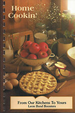 *JEWETT TX 1999 LEON HIGH SCHOOL COOK BOOK *FROM OUR KITCHENS TO YOURS *TEXAS