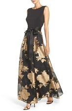 Ellen Tracy Fit & Flare Gown (size 8)
