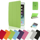 New Magnetic Smart Cover Leather + Back Case for Apple iPad 2 3 4 Air Mini 1 2 3