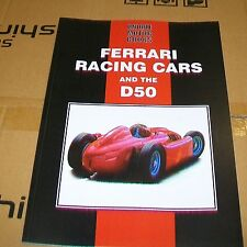 FERRARI RACING CARS AND THE D50 MAGAZINE ARTICLE REPRINT BOOK. UMB.