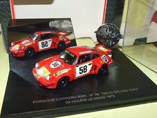 PORSCHE CARRERA RSR N°58 LE MANS 1975 UNIVERSAL HOBBIES Arrivée 5ème 1er en GTS