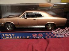 MotorMax 1967 Chevrolet Chevelle SS 396 NIB 1/18 scale