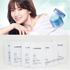 120ml Laneige Water Sleeping Mask Pack 4ml * 30 pcs Korean Cosmetics GKCPLA05