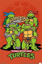 TEENAGE MUTANT NINJA TURTLES - PIZZA POSTER - 22x34 TMNT 13590