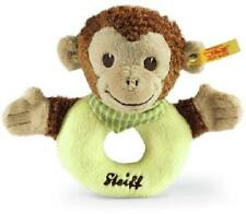 New Steiff Luxury Baby JOCKO MONKEY Grip Toyl + Steiff Gift Box 240171 Christmas