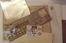 P&D Marsh OO Gauge Carnabys Garage kit requires painting