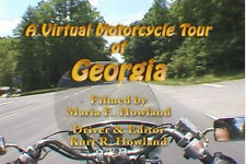 """""""A Virtual Motorcycle Tour of Georgia"""" Travel / Relaxation / Documentary DVD"""