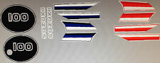 SUZUKI TS100 TS100ER DECAL SET