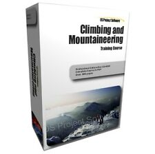 Climbing Mountaineering Mountain Ice Rock Equipment Training Course Manual CD