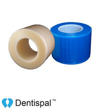 "4 Rolls Dental Barrier Film Clear or Blue 4"" x 6"" (1200 Sheet) $13.5/Roll"