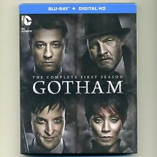 Gotham: Complete First Season 2014-15, new Blu-ray set with UV code James Gordon