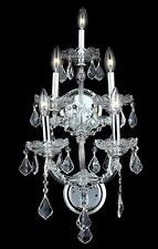 Palace Maria Theresa 5 Light Crystal  Wall Light in Chrome