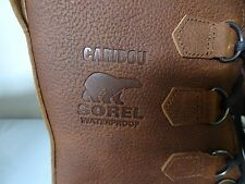 NEW Sorel Men's Caribou WL Waterproof Boots- TOBACCO SIZE 8.5