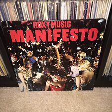 AT/GP NM- Roxy Music Manifesto LP Vinyl Record Brian Eno Bryan Ferry Album ORIG