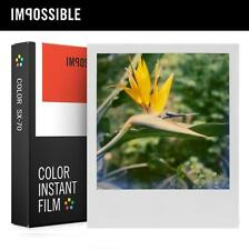 Impossible Project Color Film instant paper for Polaroid SX-70 SX70 land camera