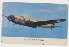 1940's Areoplanes Card of Bloch 131 From France, Very Good Condition!